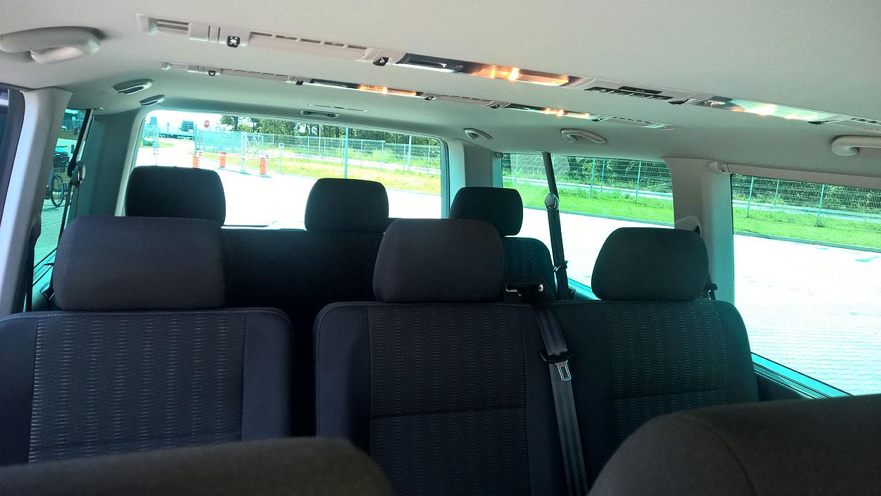 Transport przewóz osób